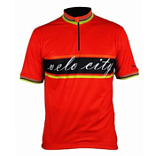 Джерси Polaris 2014 SS Jersey VELO CITY SHIRT Red