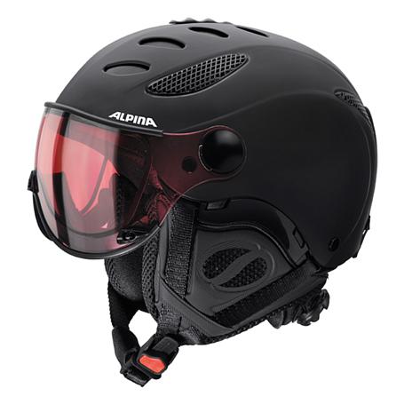 Купить Зимний Шлем Alpina JUMP JV QVHM black matt, Шлемы для горных лыж/сноубордов, 1280191