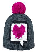 ШапкаГоловные уборы<br>Теплая и удобная шапка из мягкого акрила с помпоном.<br><br>Состав: 100% акрил