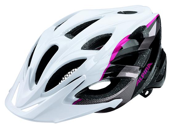 Купить Летний шлем Alpina 2017 Seheos white-titanium-pink Шлемы велосипедные 1323586