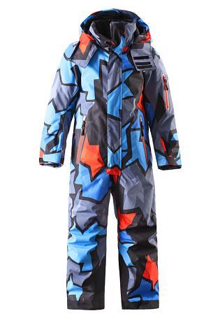 Купить Комбинезон горнолыжный Reima 2016-17 REACH СИНИЙ Детская одежда 1273918