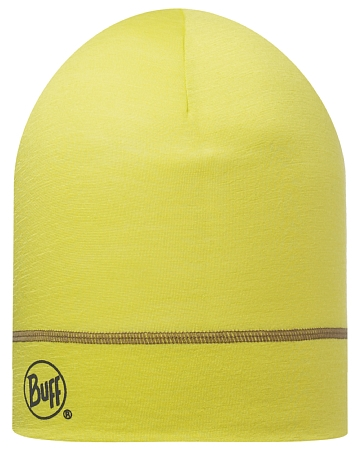 Купить Шапка BUFF WOOL MERINO 1 LAYER HAT SOLID LIME Банданы и шарфы Buff ® 1185641