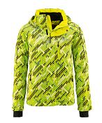 Куртка горнолыжная MAIER 2015-16 0616 Monti green/blue allover