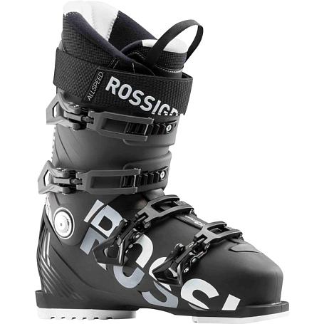 Купить Горнолыжные ботинки ROSSIGNOL 2017-18 ALLSPEED 80 BLACK/DARK GREY Ботинки горнoлыжные 1363776