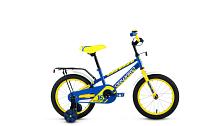 Велосипед Forward Meteor 16 2017 Синий/желтый