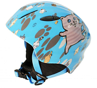 Зимний Шлем BLIZZARD Magnum ski helmet, blue cat shiny