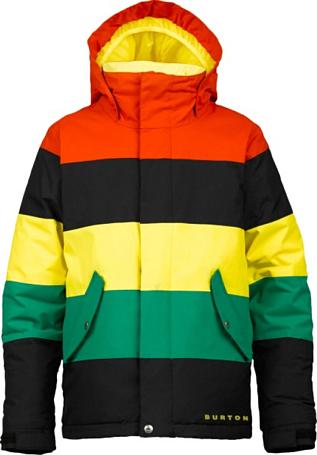 Купить Куртка сноубордическая BURTON 2013-14 BOYS SYMBOL JK BRNR/TBLK/PEEPS/TRF Детская одежда 1021645