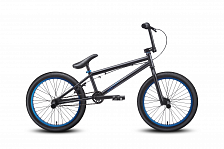 Велосипед Welt BMX Freedom 2016 matt black/blue anodized