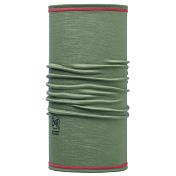 БанданаАксессуары Buff ®<br>Тонкий шарф-труба из мягкой 100% мериносовой шерсти. Buff разработана для таких видов активности как треккинг, пеший туризм или верховая езда. <br><br>Особенности:<br><br>- длинна 45,5 см<br>- бесшовная технология<br>- воздухопроницаемость и контроль влажности<br>- Polygiene® препятствует размножению бактерий и предотвращает появление запахов<br>- 100% шерсть мериноса