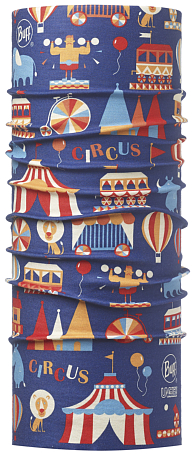 Бандана BUFF High UV Protection BUFF CHILD HIGH UV BUFF CIRCUS ROYAL BLUE