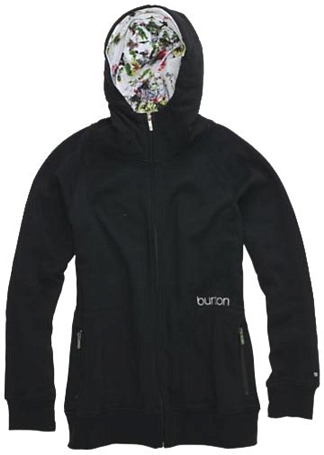 Купить Толстовка для активного отдыха BURTON 2009-10 SPENCER PREMIUM FULL- ZIP HOODIE TRUE BLACK Одежда туристическая 594829