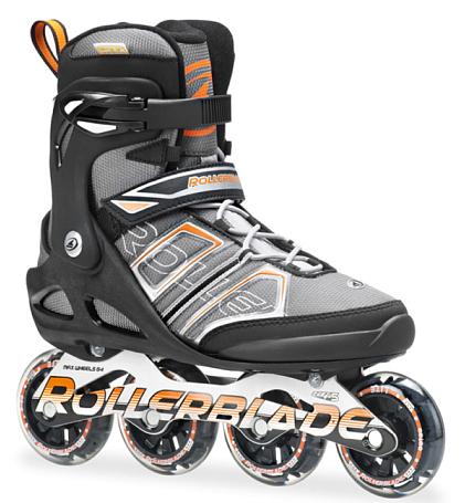 Купить Роликовые коньки Rollerblade 2014 SIRIO SK 82 BLACK/ORANGE Ролики взрослые 1076292