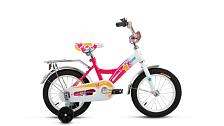 ВелосипедДо 6 лет (колеса 12-18)<br>ALTAIR City girl 14 (2017) – красивый и надежный велосипед для девочек 3-5 лет (ростом 90-110 см).<br> <br> <br> Особенности:<br> <br> Идеально подойдет для того, чтобы научится держать равновесие и освоить все навыки управления велосипедом. Поддерживающие колеса можно будет снять, когда ребенок почувствует себя уверенно. Велосипед комплектуется багажником, полноразмерной защитой цепи, защитной накладкой на руле, звонком и набором отражателей (передний и задний).<br> <br> <br> Технические характеристики:<br> <br> Рама: Сталь Hi-Ten, Специальная геометрия рамы для детей<br> Диаметр колес: 14&amp;nbsp;<br> Кол-во скоростей: 1<br> Переключатель задний: -<br> Переключатель передний: -<br> Шифтеры: -<br> Тип тормозов: ножной&amp;nbsp;<br> Тормоза:&amp;nbsp;<br> Система: Cтальная хромированная<br> Кассета: -<br> Покрышки: Wanda P1023, 14x2,125 (22tpi)