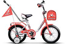 """ВелосипедДо 6 лет (колеса 12-18)<br>Детский от 1,5 до 3 лет велосипед Stels Pilot 110 12 2016. Велосипед оснащён стальной рамой. Установлены жесткая вилка , ножные тормоза, а также начальное оборудование. Stels Pilot 110 12 2016 непременно обрадует Вашего малыша, обеспечив безопасность при катании и радость от весёлых поездок.<br><br>Диаметр колес&amp;nbsp;&amp;nbsp;&amp;nbsp;&amp;nbsp;12"""" <br>Рама &amp;#40;материал&amp;#41;&amp;nbsp;&amp;nbsp;&amp;nbsp;&amp;nbsp;сталь<br>Количество скоростей&amp;nbsp;&amp;nbsp;&amp;nbsp;&amp;nbsp;1<br>Цвет рамы / элементы дизайна&amp;nbsp;&amp;nbsp;&amp;nbsp;&amp;nbsp;красный/белый<br>Тормоза&amp;nbsp;&amp;nbsp;&amp;nbsp;&amp;nbsp;задний ножной<br>Обода&amp;nbsp;&amp;nbsp;&amp;nbsp;&amp;nbsp;сталь"""
