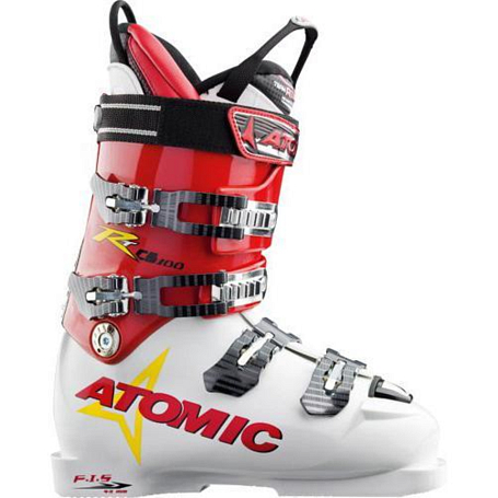 Горнолыжные ботинки ATOMIC 2005-06 Race Tec CS soft white-blue diamond