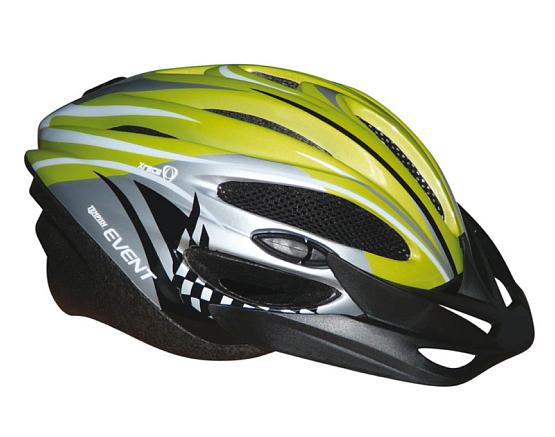 Купить Летний шлем TEMPISH 2016 EVENT green Шлемы велосипедные 1179615
