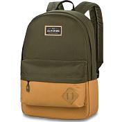 РюкзакРюкзаки городские<br>Если вам нужен простой и стильный повседневный рюкзак - выбирайте Dakine 365. Контрастные цветовые решения, начиная от диких мотивов и заканчивая лаконичным шиком, сделают ваш привычный рабочий или школьный образ более ярким. <br><br>В большом главном отделении поместятся учебники, рабочие документы и прочие повседневные вещи, а в передний карман на молнии можно положить письменные принадлежности, смартфон, бумажник и другие предметы первой необходимости, для быстрого доступа к ним. Также рюкзак оснащен стеганым дном, что бы защитить содержимое, и накладкой - патчем для крепления карабина. <br><br>Функционал: <br>- Мягкое отделение для 15-дюймового ноутбука.<br>- Вместительное главное отделение.<br>- Передний карман на молнии. <br>- Стеганое дно. <br>- Патч.<br><br>Характеристики:<br>Объем - 21 л. <br>Размеры - 46 x 30 x 20 см. <br>Состав - Полиэстер 600D, Полиэстер Рипстоп 600D &amp;#40;Dune&amp;#41;, ПУ замша.