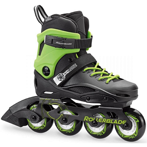 Роликовые коньки Rollerblade 2019 Cyclone black/acid green