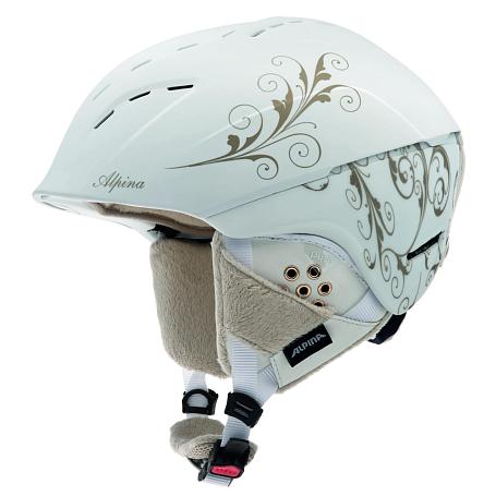 Купить Зимний Шлем Alpina SPICE white-prosecco matt Шлемы для горных лыж/сноубордов 1131157