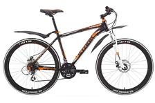 ВелосипедКолеса 26 (стандарт)<br>Горный начальный велосипед Stark Temper Disc 2015. Модель оборудована алюминиевой рамой. Установленны вилка SR M3020 63mm, дисковые механические тормоза, а также начальное оборудование. Stark Temper Disc 2015 прекрасно подойдёт для катания как в городе, так и по пересечённой местности.<br><br>Рама и амортизаторы<br><br>Рама: AL 6061<br>Вилка: SR M3020 63mm<br><br>Цепная передача<br><br>Манетки: SHIMANO ST-EF51<br>Передний переключатель: SHIMANO ALTUS/FD-TY10<br>Задний переключатель: SHIMANO ALTUS/FD-TY10<br>Шатуны: Suntour 42/32/22<br><br>Колеса<br><br>Обода: WEINMANN XTB26<br>Bтулка: Joytech alloy<br>Покрышка: WEINMANN XTB26/WTB 26*1,95<br><br>Компоненты<br><br>Передний тормоз: Promax DISC 160/160mm механика<br>Задний тормоз: Promax DISC 160/160mm механика<br>Производство: Разработка: Россия. Производство: КНР &amp;#40;Тайвань&amp;#41;.<br><br>Пол: Мужской<br>Возраст: Взрослый