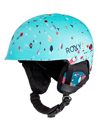 Купить Зимний Шлем ROXY 2016-17 HAPPYLAND G HLMT BSQ2 LITTLE OWL_BLUE PRINT Шлемы для горных лыж/сноубордов 1309391