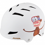 Велошлем Alpina 2018 Alpina Park jr. white monkey