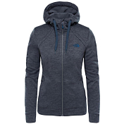 Флис для активного отдыха THE NORTH FACE 2018 W KUTUM FL ZP HOODIE ASPHALT GREY HE