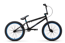 Велосипед Welt BMX Freedom 2017 matt black/blue