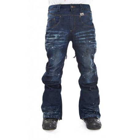 Купить Брюки сноубордические I FOUND 2014-15 ROCKSTAR PANTS - REGULAR FIT DARK BLUE/BLEU FONCE, Одежда сноубордическая, 1140730