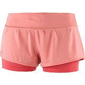 Шорты беговые Salomon 2019 Elevate Aero Short W Desert Flower/Dubarry
