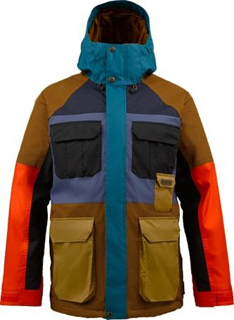 Купить Куртка сноубордическая BURTON 2013-14 MB FRONTIER JK TRUE PENNY MASH UP Одежда 1021639