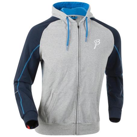 Купить Толстовка Bjorn Daehlie COMFORT/MIDLAYER Full Zip Hoody UNWIND Grey / Серый Одежда для бега и фитнеса 1181986
