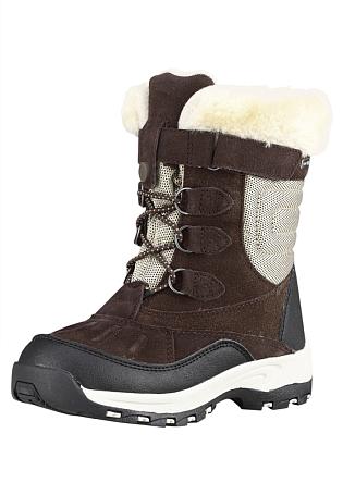 Купить Ботинки городские (высокие) Reima 2015-16 Hyrre brown, Обувь для города, 1197615