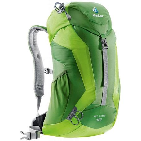 Купить Рюкзак Deuter 2015 Aircomfort AC Lite 18 emerald-kiwi Рюкзаки туристические 1073641