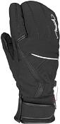 Перчатки горныеПерчатки, варежки<br>Варежки-лобстеры - новое слово в перчатках для катания! Верхняя ткань - софтшелл &amp;#43; натуральная кожа, мембрана REUSCH-R-Tex, усиленная ладошка из натуральной кожи, эластичная манжета с регулировкой. Утеплитель - R-LOFT, тепловой стандарт THERMO-4.<br><br>Пол: Женский<br>Возраст: Взрослый<br>Вид: перчатки