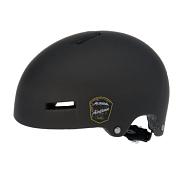 Летний шлемВелосипедные шлемы<br>Отличный шлем для паркового катания.<br><br>Жесткая пластиковая скорлупа устойчива к многократным ударам, свежая графика и съёмный козырёк. <br><br>Технологии: Сeramic shell, Run System Classic<br><br>Кол-во вентиляционных отверстий: 12<br><br>Пол: Унисекс<br>Возраст: Взрослый