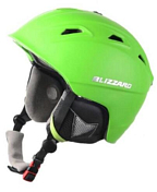 Зимний Шлем BLIZZARD Demon ski helmet, neon green matt