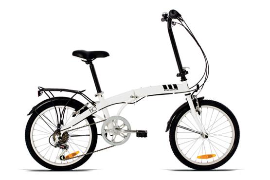 Купить Велосипед ORBEA FOLDING F10 2015 Белый / Белый, Складные велосипеды, 1253873