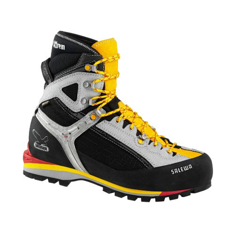 Купить Ботинки для альпинизма Salewa Mountaineering MS RAVEN COMBI GTX (W) ЧерныйЖелтый, Альпинистская обувь, 896373