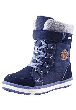 Купить Ботинки городские (высокие) Reima 2016-17 FREDDO СИНИЙ, Обувь для города, 1274401