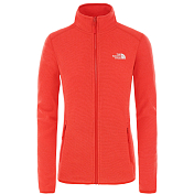 Флис для активного отдыха The North Face 2020 100 Glacier Full Zip Cayenne Red