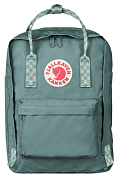 "Рюкзак FjallRaven 2020-21 Kanken Laptop 13"" Frost Green-Chess Pattern"