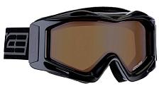 Очки горнолыжныеОчки горнолыжные<br>Гоночная модель маски с аэродинамической вентиляцией&amp;nbsp;<br> <br> -Вентиляционные каналы закрыты мембраной, предотвращающей попадание снега&amp;nbsp;<br> -Двойные линзы с покрытием антифог и защитой от вредного ультрафиолетового излучения&amp;nbsp;<br> -Двойной слой бархата на внутренней поверхности маски придаёт амортизационные свойства и увеличивает комфорт.&amp;nbsp;<br> -Подвижное крепления стрепа для максимальной совместимости с любыми шлемами<br> -Линзы полностью блокируют УФ(до 400 Нм)<br> -Раскрашенная оправа<br> -Совместима со шлемами<br> -Двойные линзы с антифогом<br> -Фотохромные линзы с поляризацией<br>