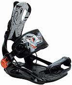 Сноуборд Крепления Black Fire 2016-17 Step FT Black