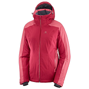 Куртка горнолыжная SALOMON 2019-20 Brilliant jkt w Rio Red/Garnet Rose