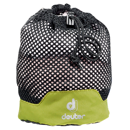 Упаковочный мешок Deuter 2015 Accessories Mesh Sack S black-apple