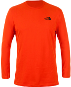 �������� � ������� ������� ������������� THE NORTH FACE 2015-16 M L/S ICE CLIMBER TE ACRYLIC ORANGE ���������