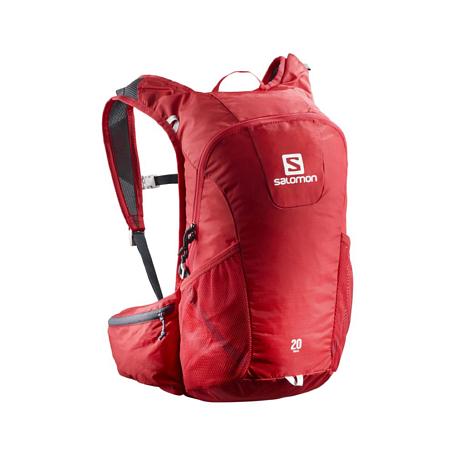 Купить Рюкзак SALOMON 2017-18 BAG TRAIL 20 Barbados Cherry/Grap Рюкзаки универсальные 1384370