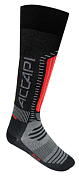 Носки Accapi 2020-21 Ski Touch Black/Red