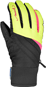 Перчатки горныеПерчатки, варежки<br>Теплые, влагозащитные лыжные перчатки подходят для зимних видов спорта<br> <br> -Утеплитель R-LOFT, Thermo 4, примерная температура - 20 + 0С°<br> -материал верха R-TEX®XT: 100% полиэстер, R-LOFT: 100% полиэстер, New PolyTex: 100% полиэстер<br> -подкладка из MicroActive выводит влагу наружу<br> -эластичные манжеты